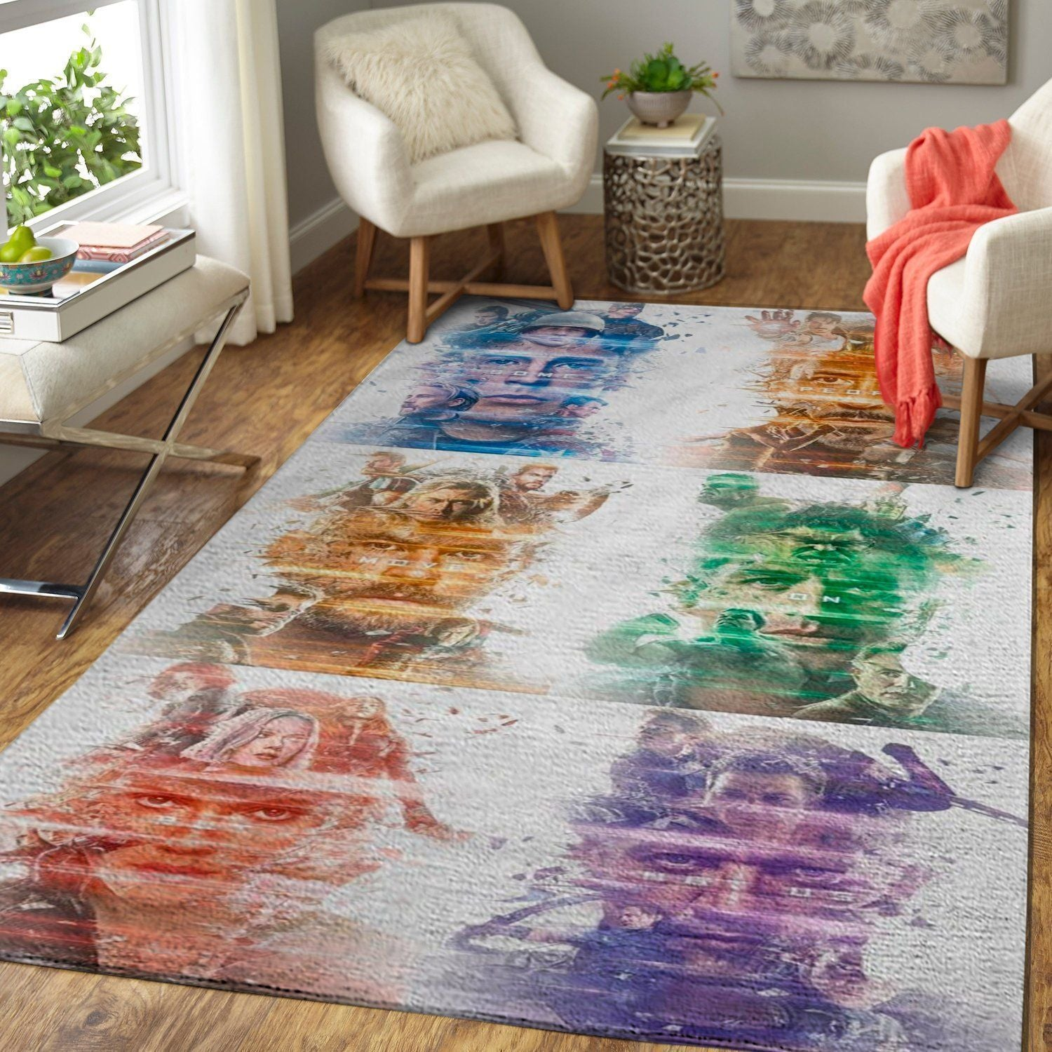 Marvel Superhero Area Rugs / Marvel Superhero Movie Living Room Carpet, Custom Floor Decor 01