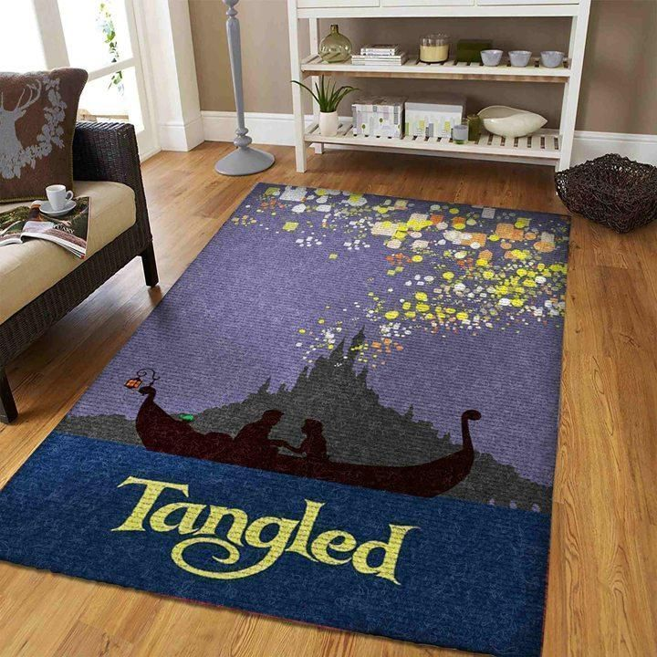 Tangled Area Rugs - Disney Princess Area Rugs 3010194