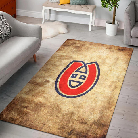 Montreal Canadiens Area Rugs NHL Hockey Living Room Carpet Team Logo Floor Home Decor 1