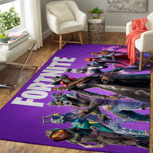 Fortnite Area Rug Video Game Carpet, Gamer Living Room Rugs, Floor Decor F2510