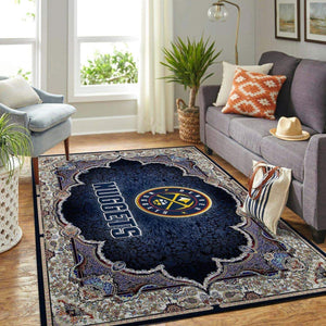 Denver Nuggets NBA Area Rugs Living Room Carpet Christmas Gift Floor Decor RCDD81F34594