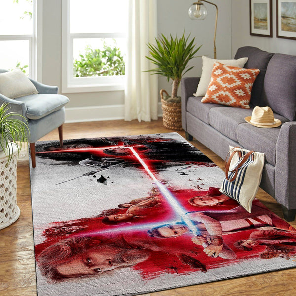 Star Wars Area Rugs - The Last Jedi, Movie Living Room Carpet, Custom Floor Decor 3