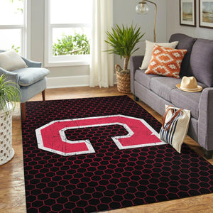 Cleveland Indians Area Rugs MLB Baseball Team Living Room Carpet Sport Custom Area Floor Home Decor