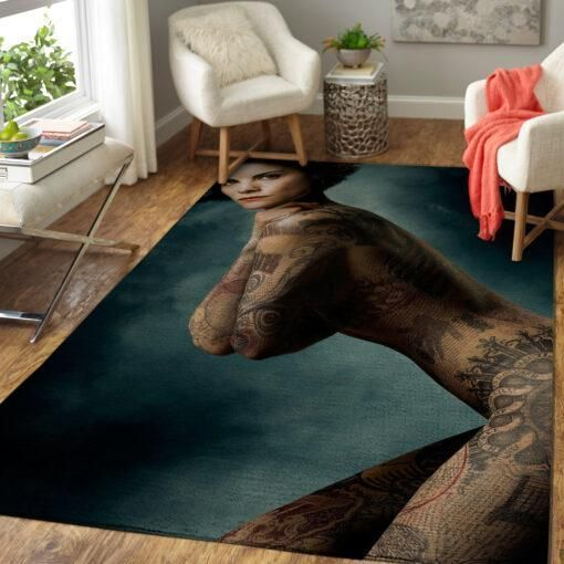Blindspot Area Rugs / Movie Living Room Carpet, Custom Floor Decor 021113