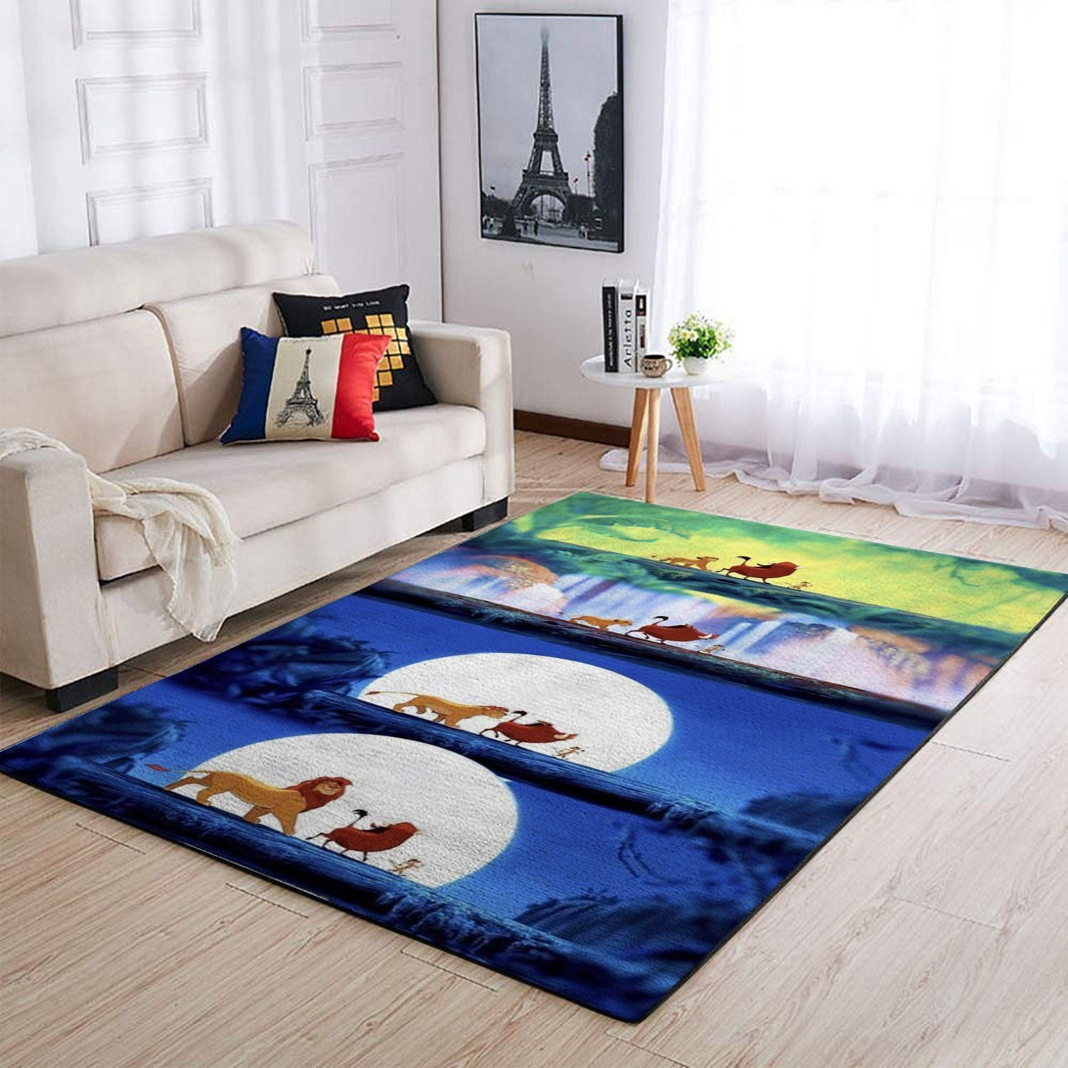 The Lion King Area Rugs, Disney Movie Living Room Carpet, Custom Floor Decor