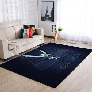 Seattle Seahawks Area Rugs NFL Football Living Room Carpet Team Logo Custom Floor Home Decor 1910072
