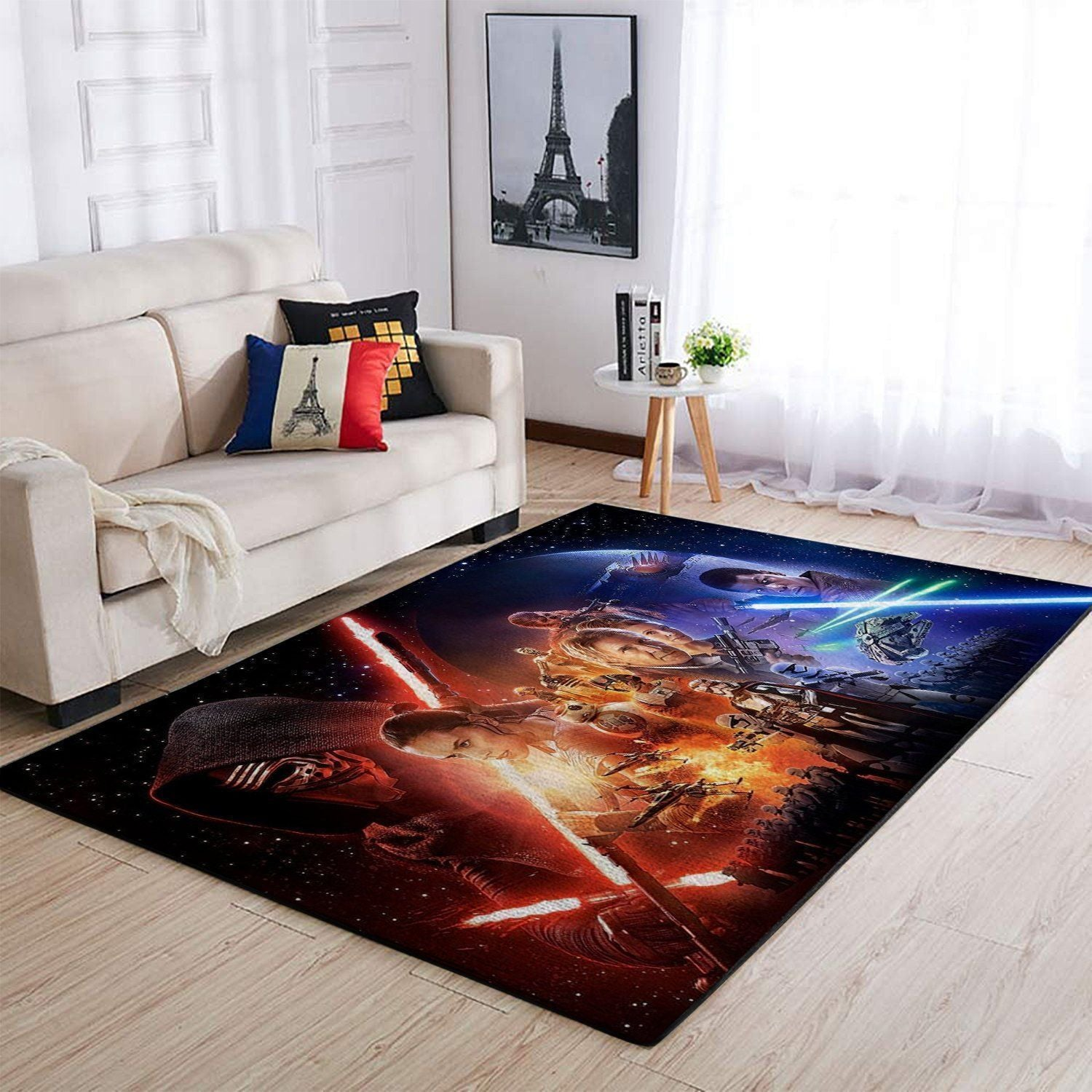 Star Wars Area Rugs - The Last Jedi / Movie Living Room Carpet, Custom Floor Decor 5