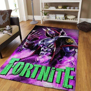Fortnite Area Rug Video Game Carpet, Gamer Living Room Rugs, Floor Decor 190911