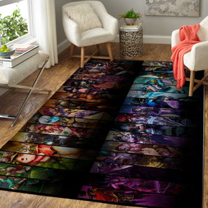League Of Legends LOL Area Rug / Gaming Carpet, Gamer Living Room Rugs, Floor Decor 19091617