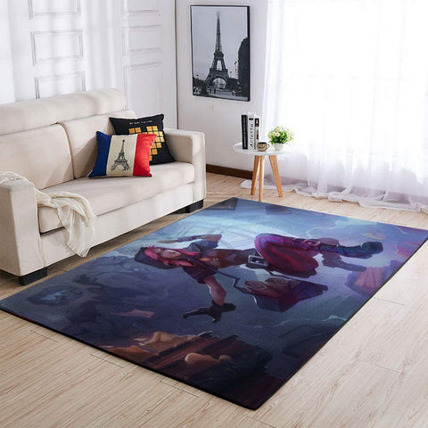 League Of Legends LOL Area Rug, Gaming Carpet, Gamer Living Room Rugs, Floor Decor