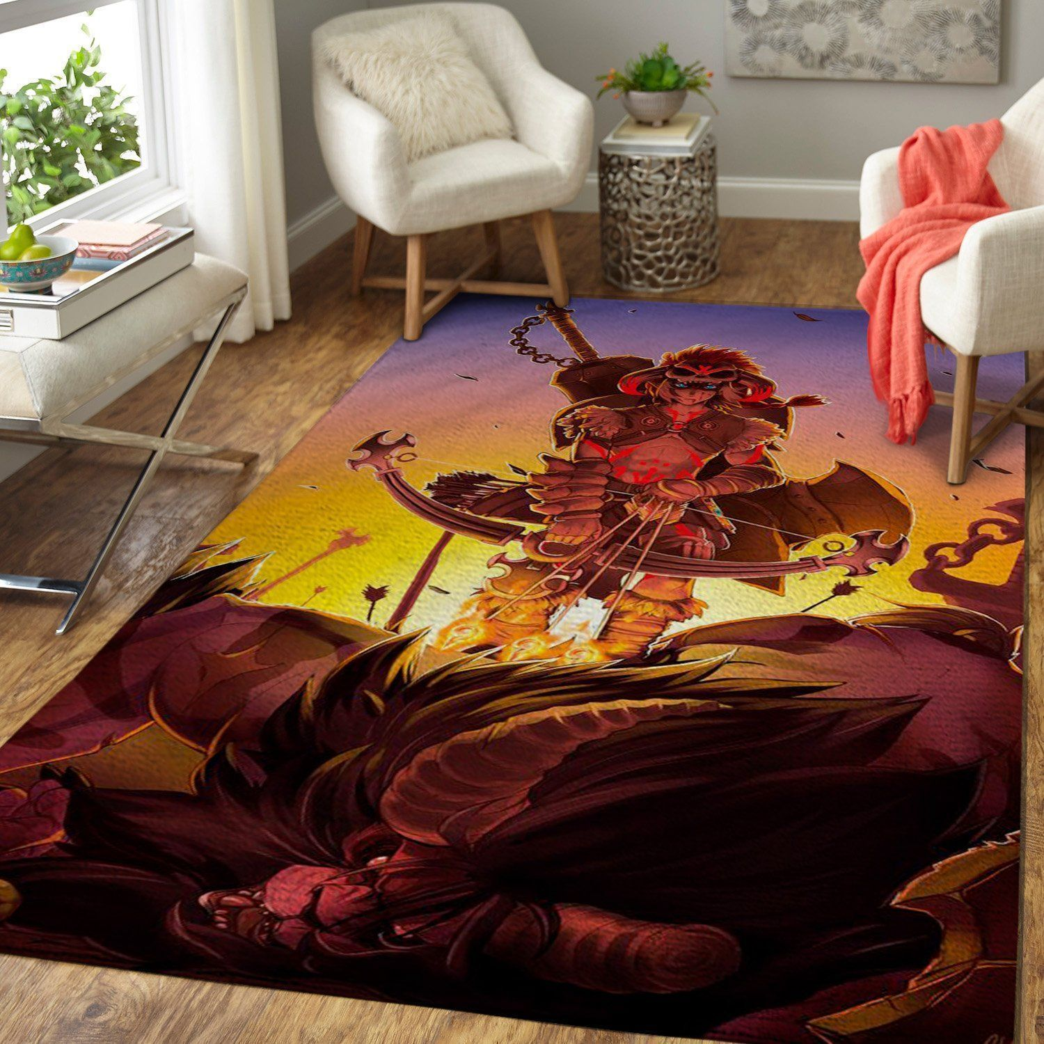 The Legend of Zelda Area Rug Nintendo Video Game Carpet, Gamer Living Room Rugs, Floor Decor 191013