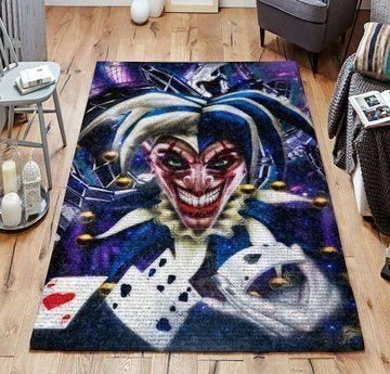 Joker Area Rugs / Movie Living Room Carpet, Custom Floor Decor 07111