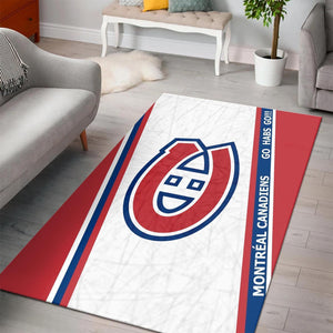 Montreal Canadiens Area Rugs NHL Hockey Living Room Carpet Team Logo Floor Home Decor 4