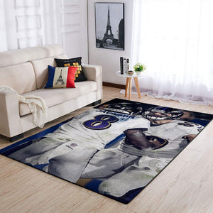 Baltimore Ravens Area Rugs  NFL Football Living Room Carpet Team Logo Custom Floor Home Decor 190911