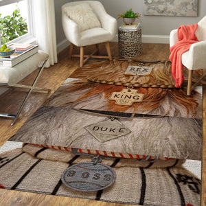 Isle of Dogs Movie Area Rugs, Movie Living Room Carpet, Custom Floor Decor