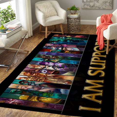 League Of Legends LOL Area Rug, Gaming Carpet, Gamer Living Room Rugs, Floor Decor 19091612