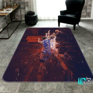 Los Angeles Clippers NBA 3D Area Rugs Living Room Carpet Christmas Gift Floor Decor RCDD81F33986