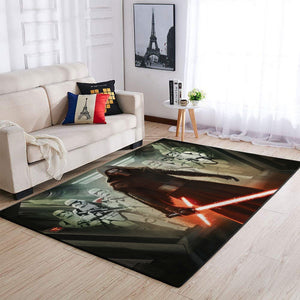 Kylo Ren Area Rugs / Movie Living Room Carpet, Custom Floor Decor 11