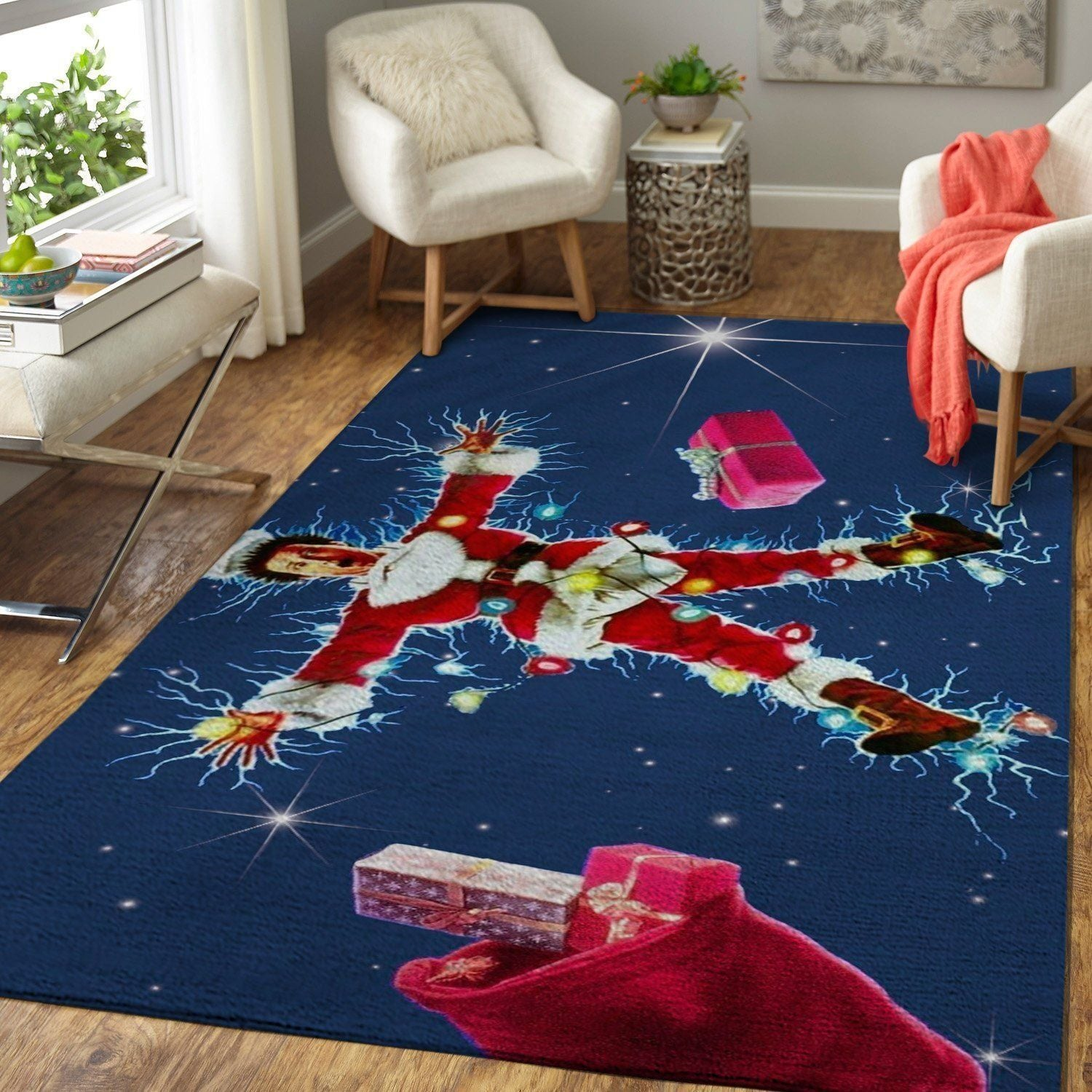 National Lampoon's Christmas Vacation Area Rugs / Movie Living Room Carpet, Custom Floor Decor 3