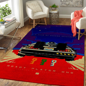 Ready Player One Area Rugs / Movie Living Room Carpet, Custom Floor Decor