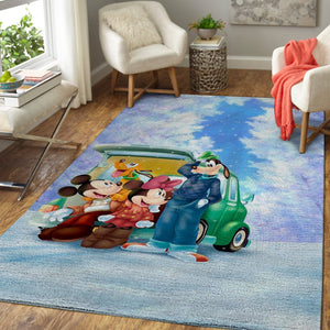 Mickey Mouse Clubhouse Area Rugs, Disney Movie Living Room Carpet, Custom Floor Decor 1910219