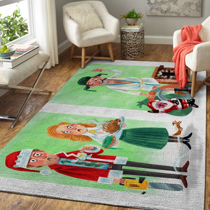 National Lampoon's Christmas Vacation Area Rugs / Movie Living Room Carpet, Custom Floor Decor 2
