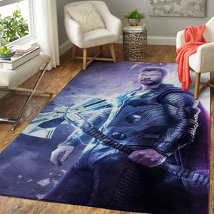 Marvel Superhero Thor Area Rugs, Movie Living Room Carpet, Custom Floor Decor TT