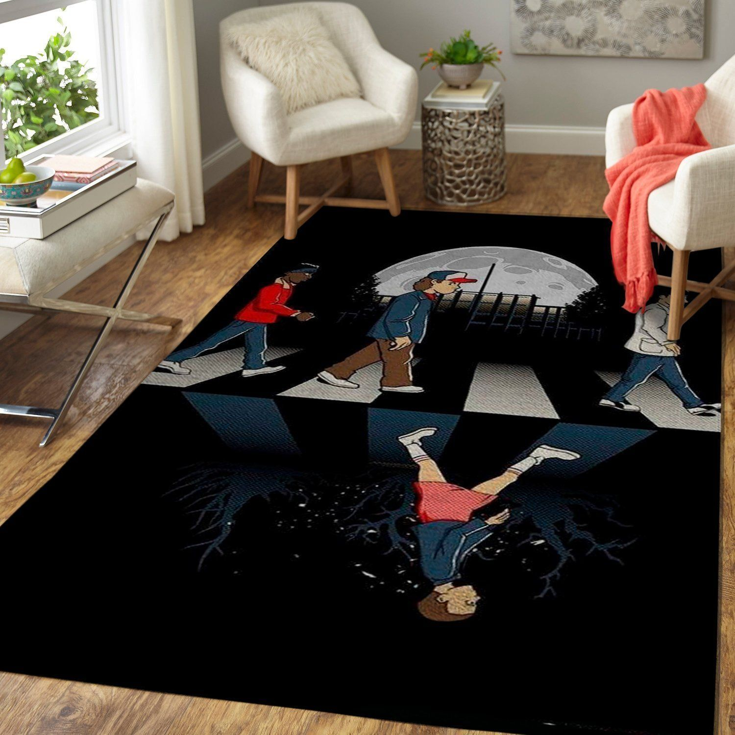 Stranger Things Area Rugs, Movie Living Room Carpet, Custom Floor Decor 3