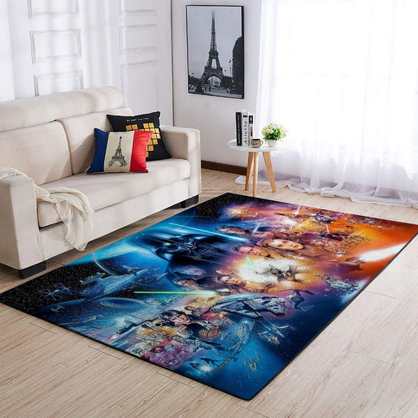 Star Wars Characters Area Rugs, Movie Living Room Carpet, Custom Floor Decor 25