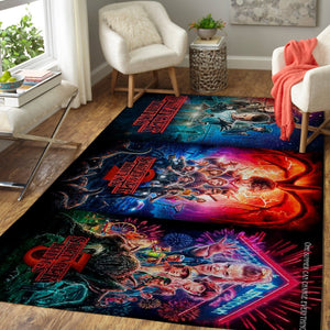 Stranger Things Area Rugs / Movie Living Room Carpet, Custom Floor Decor 3SST