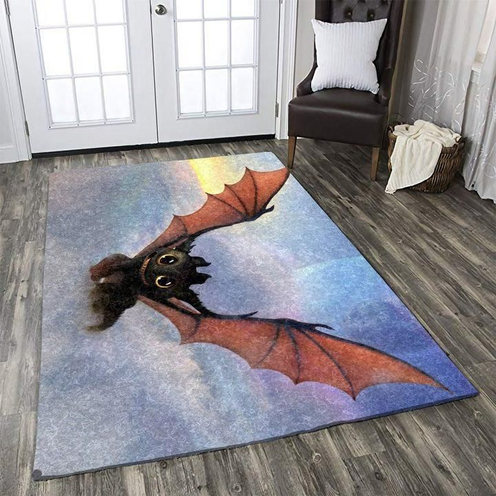 How To Train Your Dragon Area Rugs, Movie Living Room Carpet, Custom Floor Decor 101117