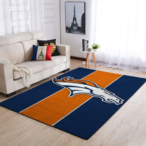 Denver Broncos Area Rugs NFL Football Living Room Carpet Team Logo Custom Floor Home Decor 190910