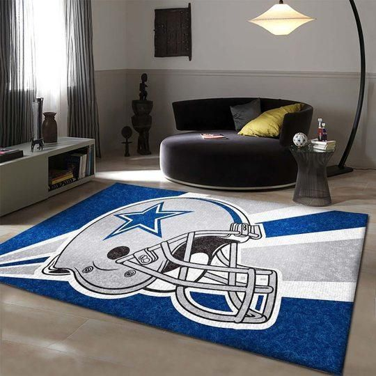 Dallas Cowboys Area Rugs NFL Football Living Room Carpet Team Logo Custom Floor Home Decor 0111199