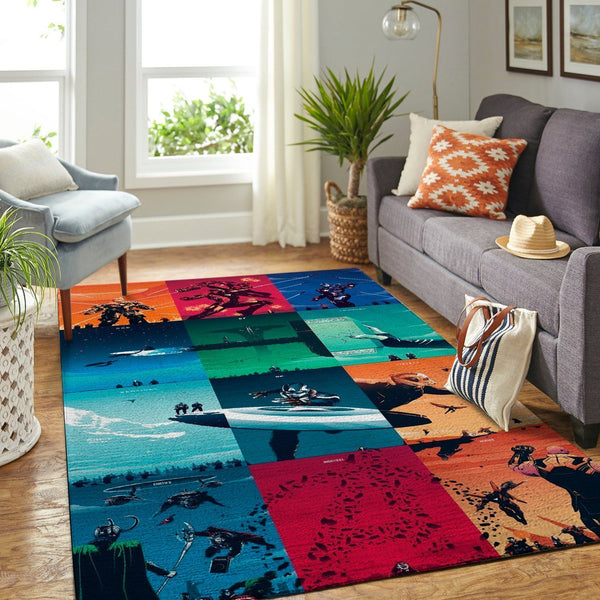 Mavel Avengers Area Rugs / Superhero Movie Living Room Carpet, Custom Floor Decor 290830