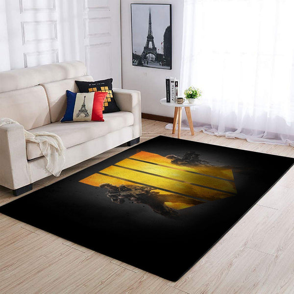 Call Of Duty Black Ops Area Rug / Gaming Carpet, Gamer Living Room Rugs, Floor Decor 19091603