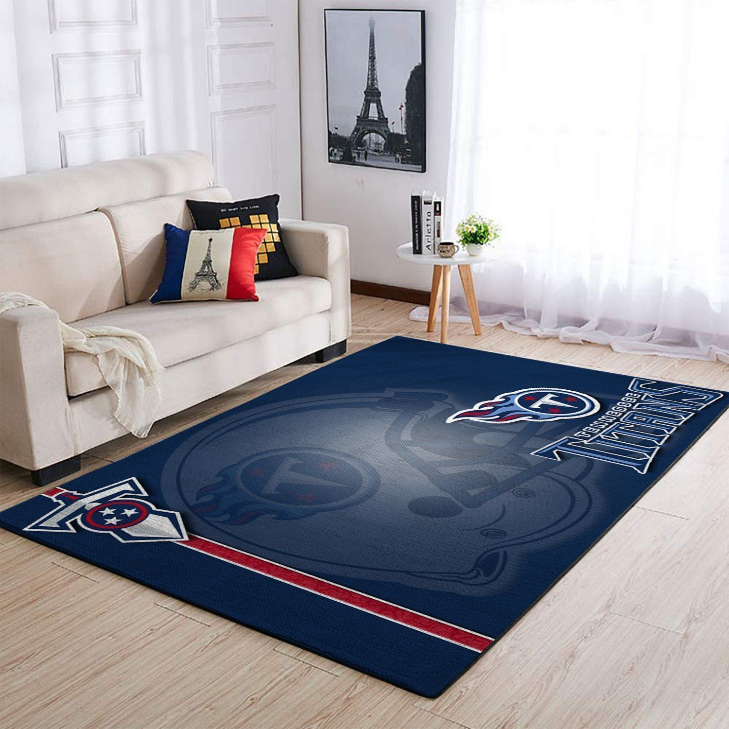 Tennessee Titans Area Rugs NFL Football Living Room Carpet Team Logo Custom Floor Home Decor 1910074