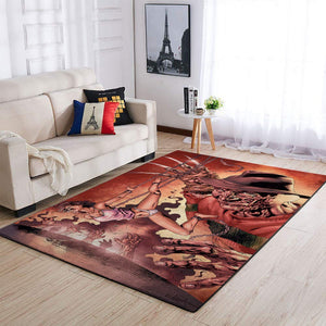 A Nightmare on Elm Street 2: Freddy's Revenge  Halloween Specail Area Rugs Living Room Carpet, Custom Floor Decor