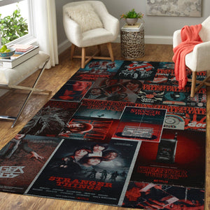 Stranger Things Area Rugs, Movie Living Room Carpet, Custom Floor Decor 2