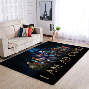 League Of Legends LOL Area Rug, Gaming Carpet, Gamer Living Room Rugs, Floor Decor 19091604