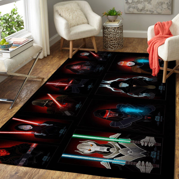 Star Wars Sith Area Rugs / Movie Living Room Carpet, Custom Floor Decor 8