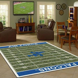 Air Force Falcons Area Rugs / Football Team Logo Carpet, Living Room Rugs Floor Home Decor F102175