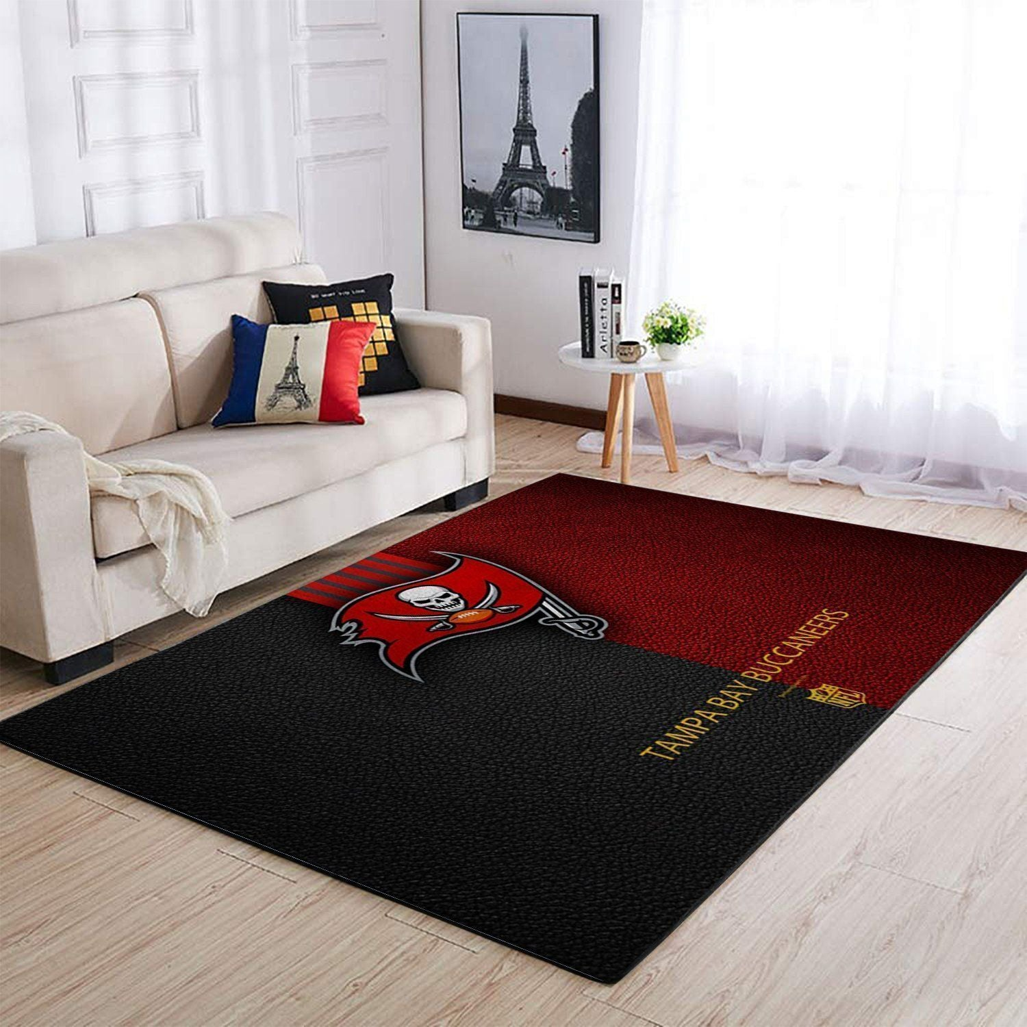 Tampa Bay Buccaneers Area Rugs NFL Football Living Room Carpet Team Logo Custom Floor Home Decor 1910072