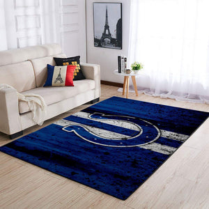 Indianapolis Colts Area Rugs NFL Football Living Room Carpet Team Logo Custom Floor Home Decor 1910071