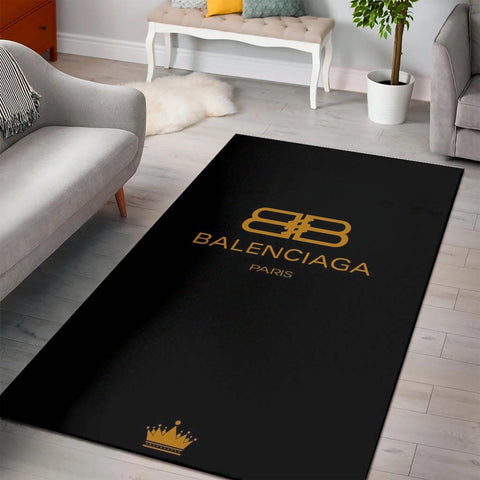 Balenciaga Area Rug Hypebeast Carpet, Luxurious Fashion Brand Logo Living Room  Rugs, Floor Decor 2002182
