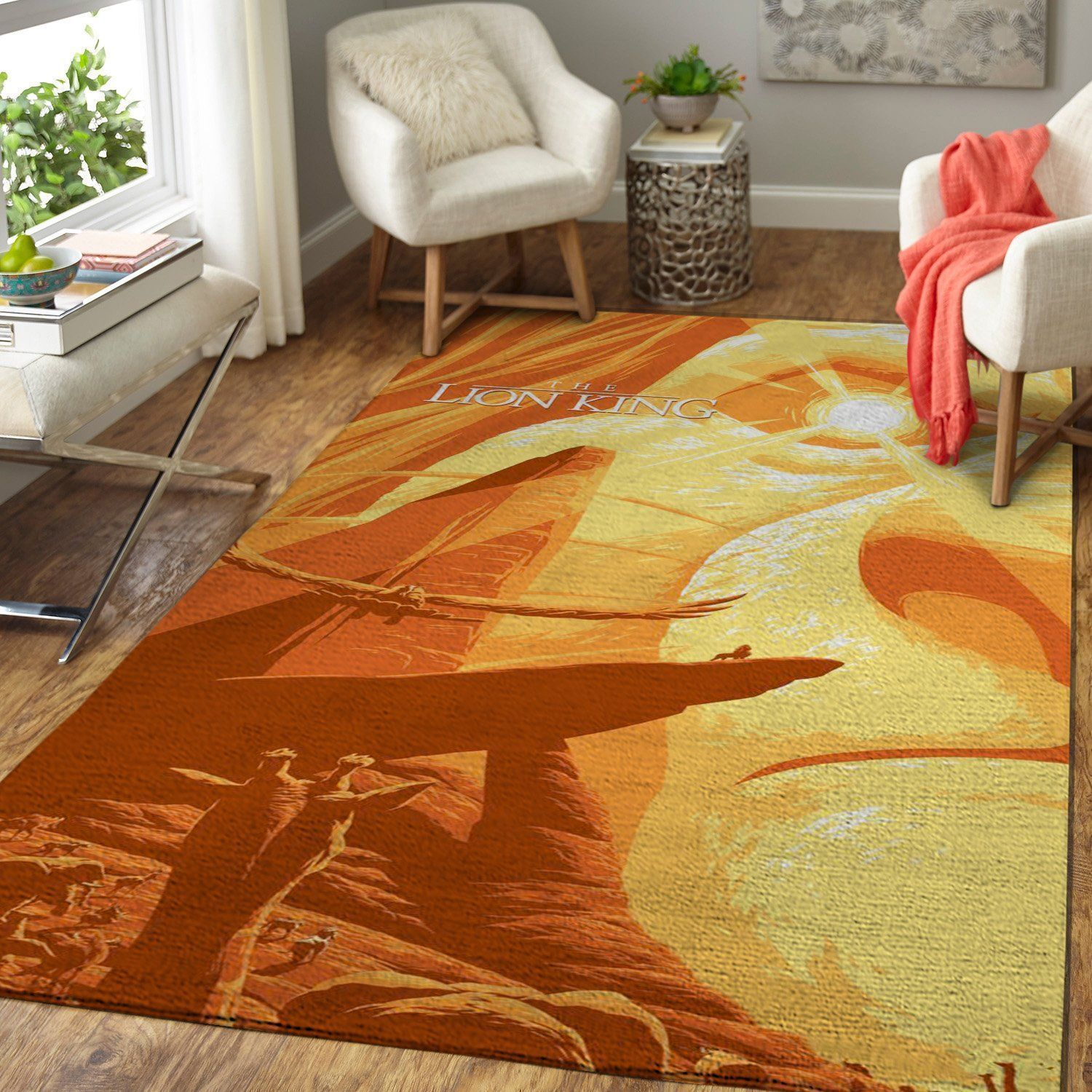 The Lion King Area Rugs, Disney Movie Living Room Carpet, Custom Floor Decor 19102123