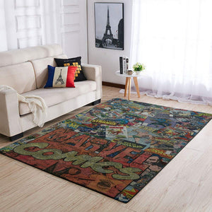 Marvel Comics Area Rugs / Living Room Carpet, Custom Floor Decor