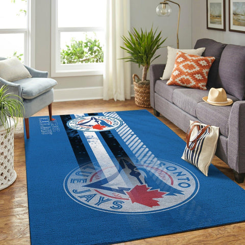 Toronto Blue Jays Area Rugs MLB Baseball Team Living Room Carpet Sport Custom Area Floor Home Decor