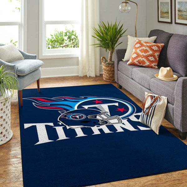 Tennessee Titans Area Rugs NFL Football Living Room Carpet Team Logo Custom Floor Home Decor 1909111