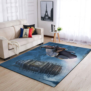 A Christmas Carol Area Rugs / Movie Living Room Carpet, Custom Floor Decor