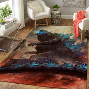 Godzilla Area Rugs, Movie Living Room Carpet, Custom Floor Decor 1910195